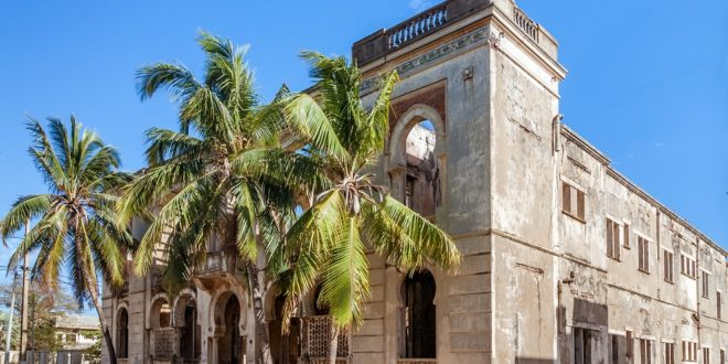"Morbides ""Hotel des Marines"" in Antsiranana"